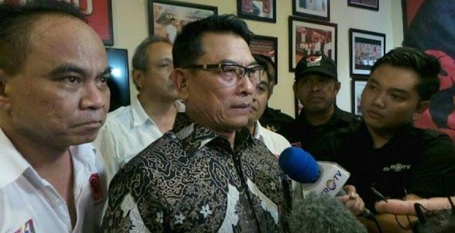 Istana Tutup Ruang Dialog dengan FPI, Moeldoko: Kami Butuh Komitmen Terhadap Pancasila