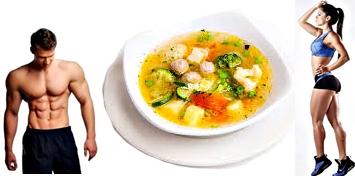 sopa de verduras nutritiva