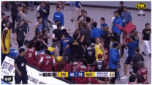 LOOK: 6 Other People Involved in the Brawl of Gilas and Aussies