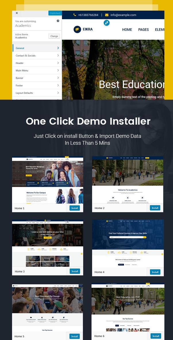 Eikra  Education WordPress Theme