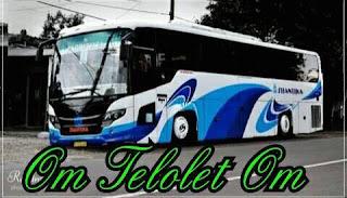 Gambar Tulisan Om Telolet Om Bus