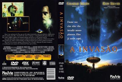 Filme A Invasão (The Arrival - 1996) DVD Capa