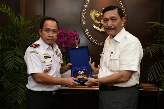 Menko Kemaritiman dan Investasi Luhut Binsar Pandjaitan Berharap Omnibus Law Bakamla RI Menjadi Indonesian Coast Guard Bisa Dipercepat