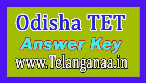 Odisha TET Answer Key OTET II Answer Key 2018 @ bseodisha.ac.in