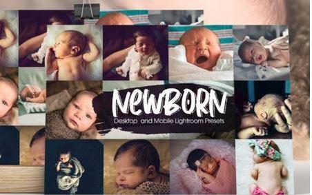 Preset Lightroom Newborn cho trẻ nhỏ (Mobile/Desktop)