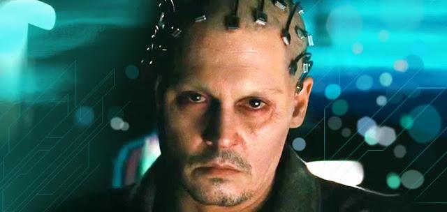 Johnny Depp în filmul sci-fi Transcendence