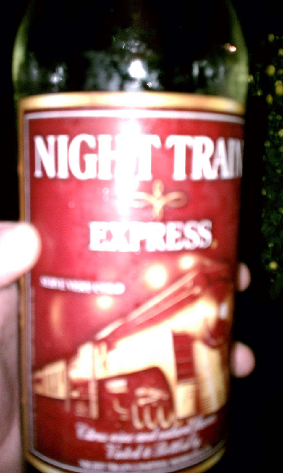 Bum Wine Of The Week Night Train Express 82914 Bumming With