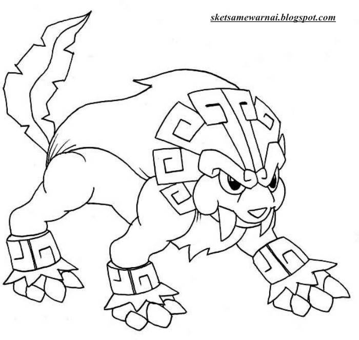 Sketsa Mewarnai Gambar Pokemon Go Sketsa Mewarnai
