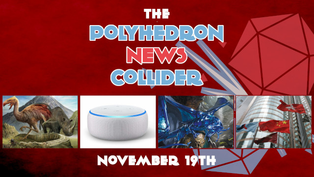 Board Game News Collider Alexa plays Ticket To Ride, Chad Jensen Dies, CMON on the Hong Kong Sock Exchange, JR Honeycutt Accused of sexual assault, Dungeons and Dragons Sapphire Anniversary