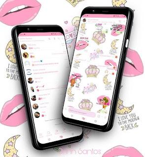 Crow & Lips Theme For YOWhatsApp & Fouad WhatsApp By Driih Santos
