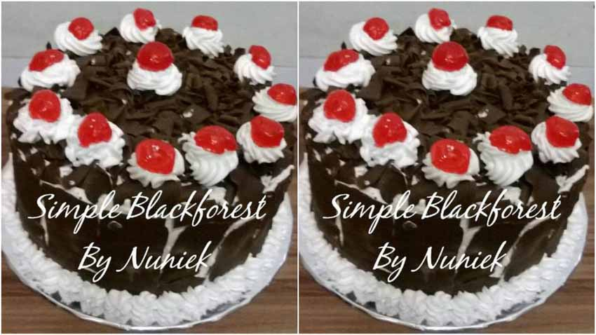 Resep Simple Blackforest Steamed