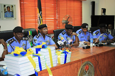 Inauguration of a committee to review the audit reports of Nigeria Police