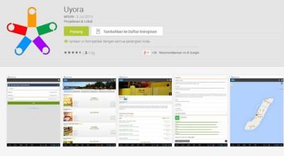 Uyora, Masuk Jajaran Top List Aplikasi di Google Play