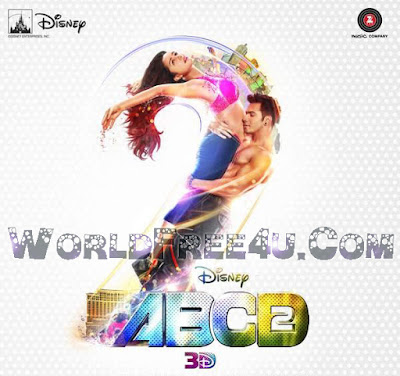 Poster Of Bollywood Movie Any Body Can Dance 2 (2015) 150MB Compressed Small Size Mobile Movie Free Download worldfree4u.com