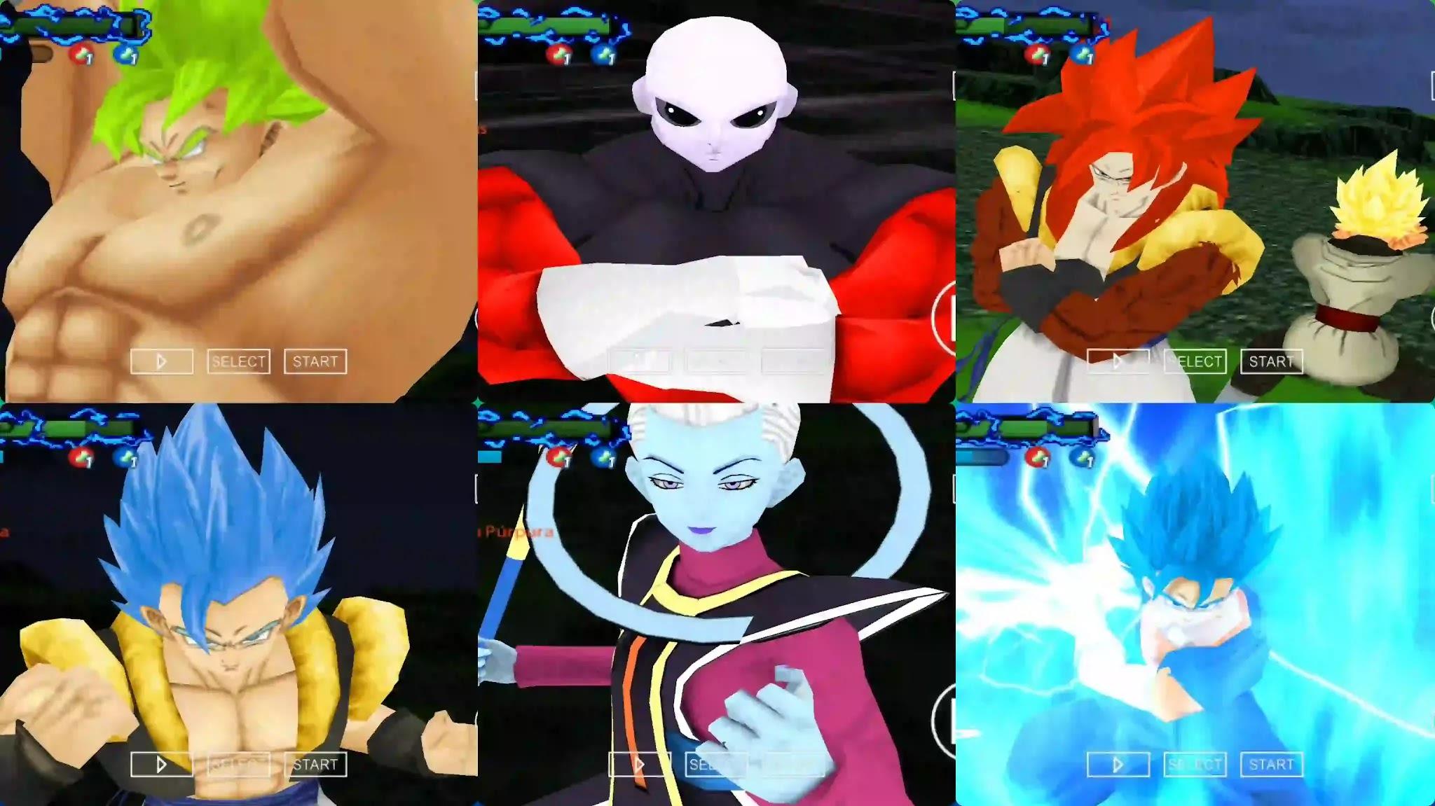 Dragon Ball Super Movie Broly dbz ttt mod ppsspp
