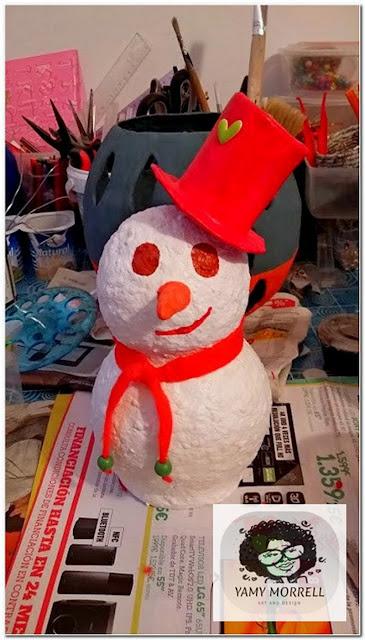 Modern-snowman