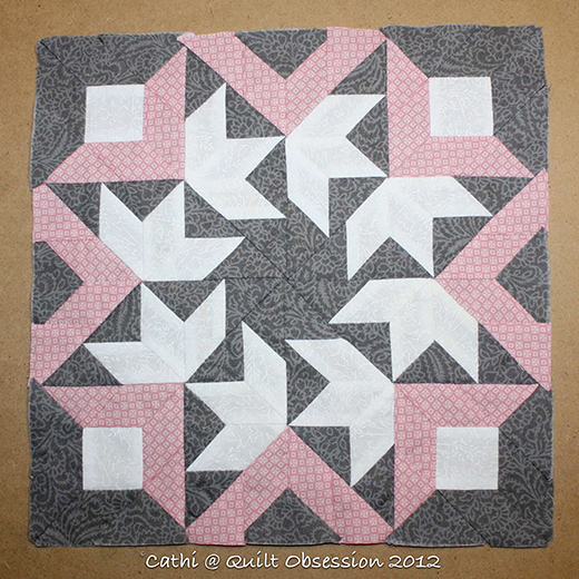The Swallows of Inklingo Block Free Quilt Tutorial