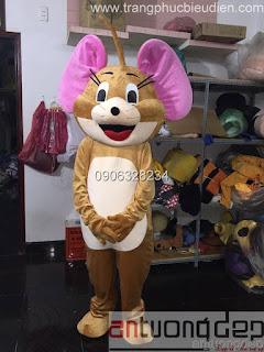 may bán mascot chuột jerry giá rẻ