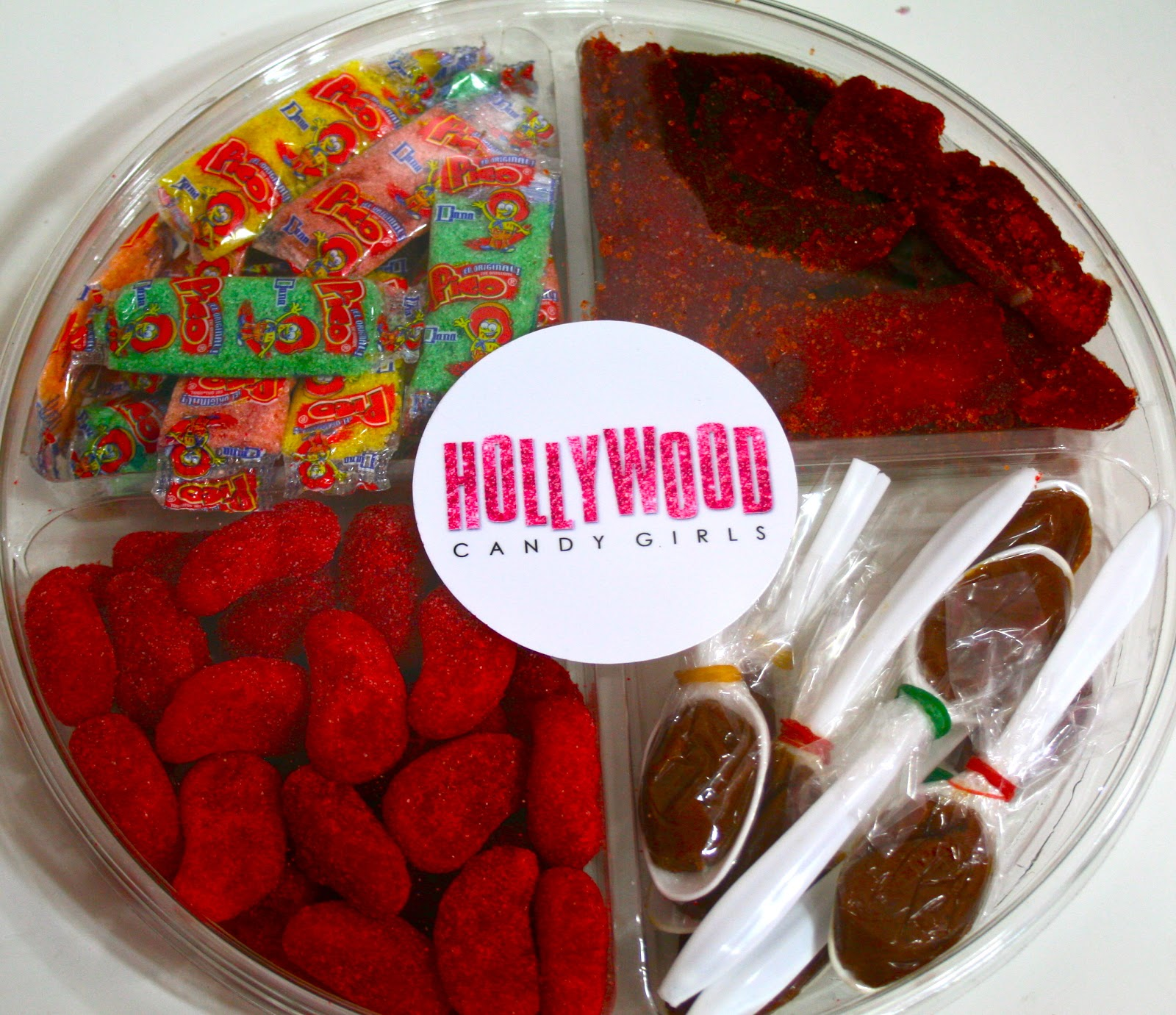 Latino Sweets! Mexican Candy Trays With Sweet & Spicy