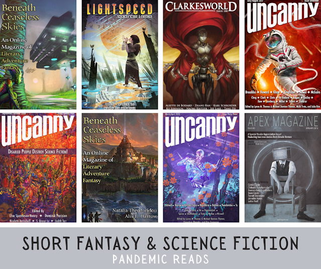 thumbnail collage of assorted sff magazine covers
