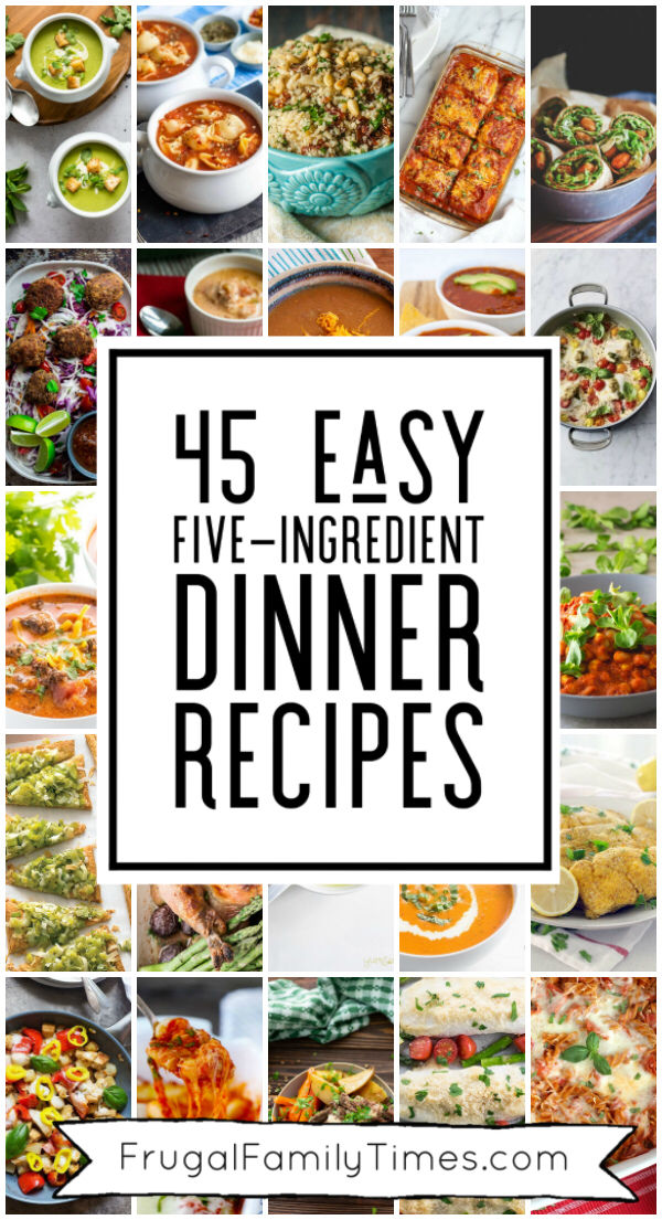 Recipes with 5 ingredients