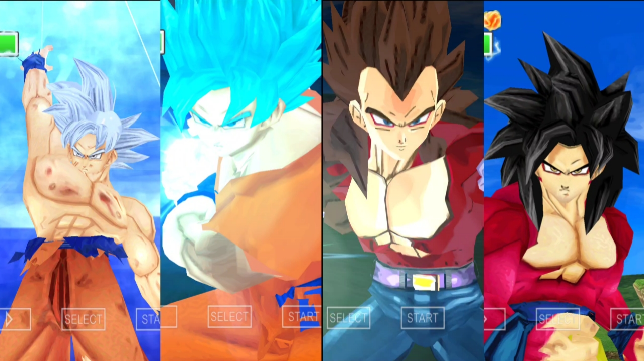 DBZ Goku all forms and Transformation