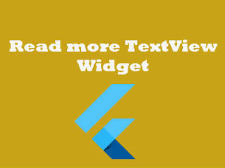flutter read more textview widget