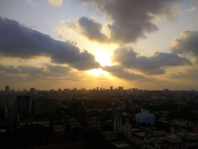skywatch, sky, sunset, clouds, bandra, skyscape, cityscape, mumbai, incredible india, evening,