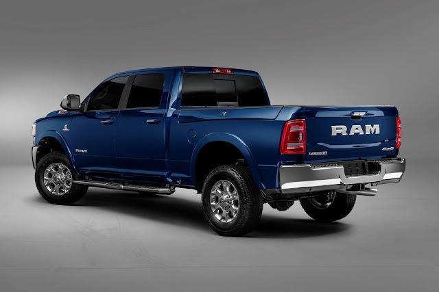 Nova Ram 2500 Laramie 2020: fotos e preços (Brasil)