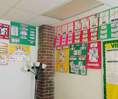 Ms. Ryan math word wall