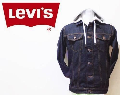 Jaket Jeans Levi's kupluk