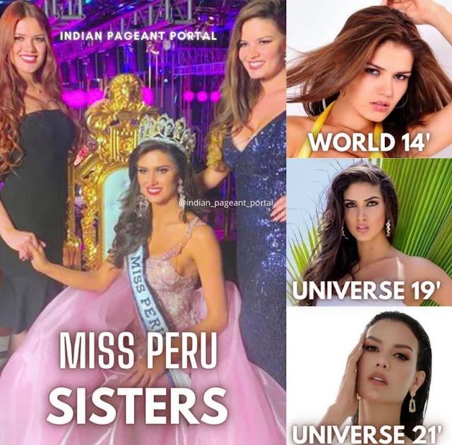 Miss Perú Sisters