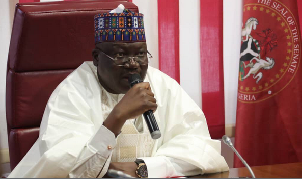 Senators Are Violating Social Distance Regulations During Plenary - Lawan