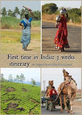 India 3 weeks itinerary