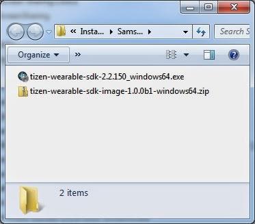 Tutorial cara instal TIZEN SDK for Wearable untuk Samsung Gear