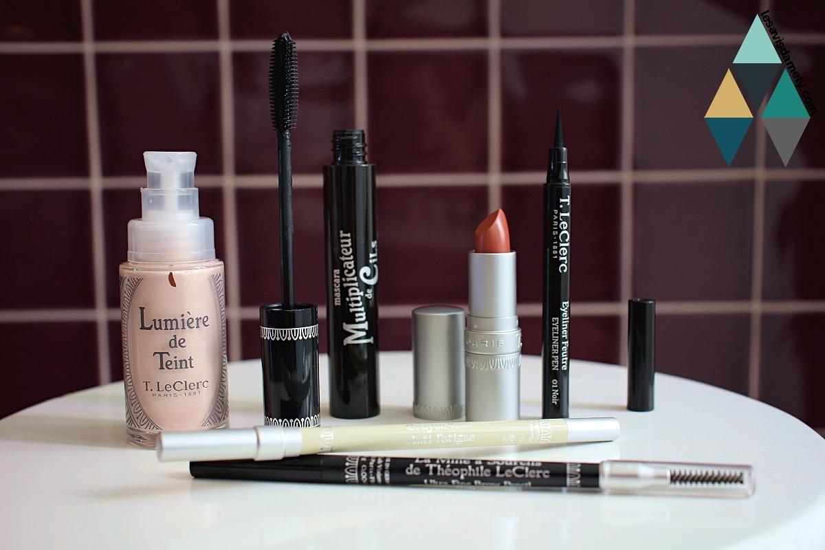 avis et revue beauté makeup rentrée T.Leclerc
