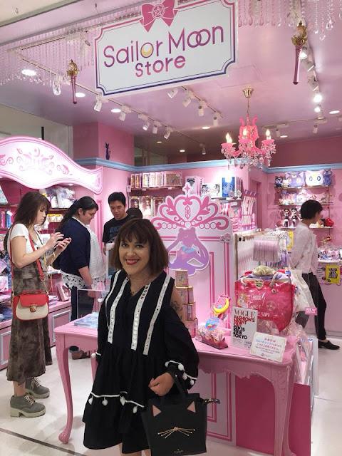Boutique Sailor Moon à Tokyo