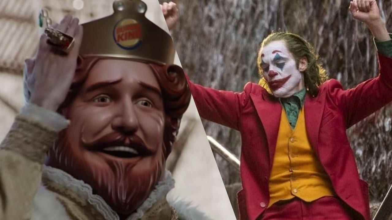 Burger King faz parodia com icônica cena de Coringa