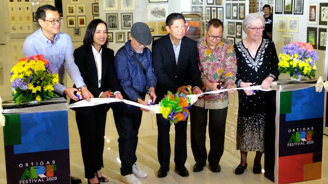 Ortigas Art Festival 2020 Ribbon-cutting ceremony