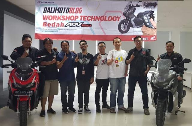 Bedah Honda ADV150 Bali MotoBlog dan Astra Motor Bali