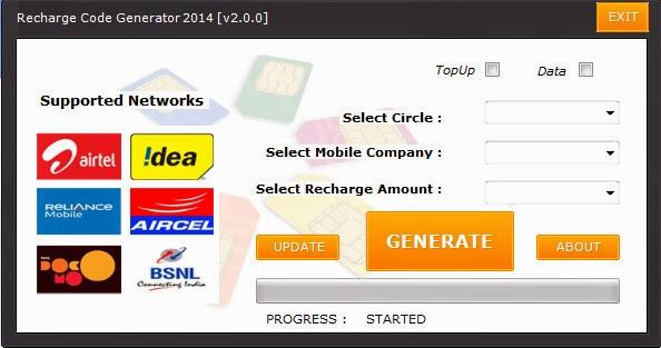 Airtel Free Recharge Code Generator Download