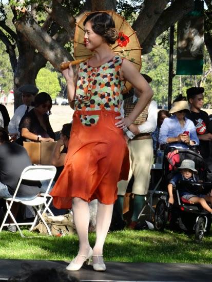 20s dress fashion show
