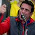 """Capriles llama """"genocida"""" a Maduro y lo culpa por la represión en Venezuela"""