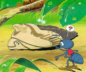 Dongeng Anak Cerita Semut, Ulat Dan Kancil