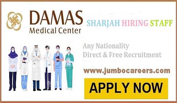 Hospital Technician jobs in Sharjah| Hospital Administration Jobs in Sharjah|