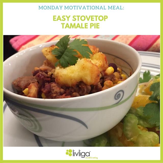 Livliga Healthy Stovetop Tamale Piein Vivente Bowl