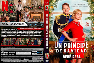 CARATULA UN PRINCIPE DE NAVIDAD: BEBE REAL - A Christmas Prince: The Royal Baby - 2019