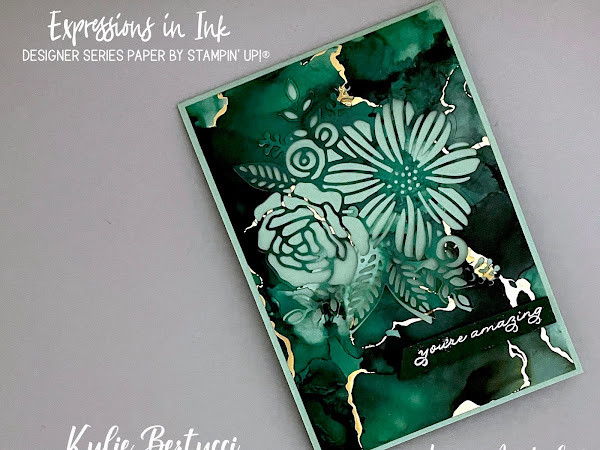 Pretty Cards and Paper International Blog Hop June 2021   Expressions in Ink Designer Series Paper