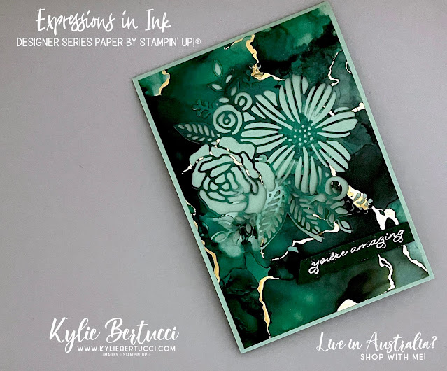 Pretty Cards and Paper International Blog Hop June 2021 | Expressions in Ink Designer Series Paper