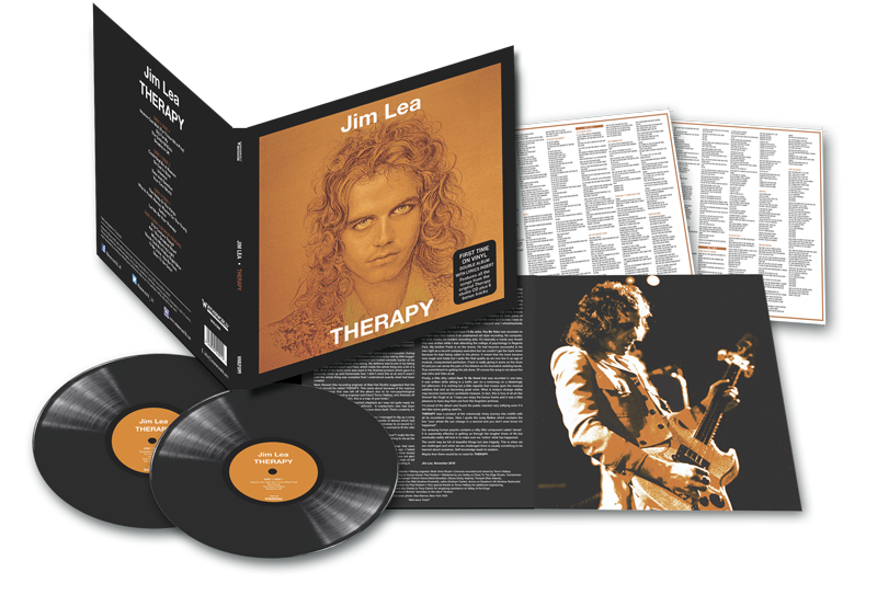 JIM LEA THERAPY 2LP VINYL EDITION